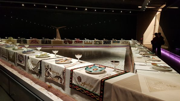 Brooklyn MUseum Dinner Party